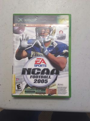 Ncaa football 2005 for xbox for Sale in Modesto, CA