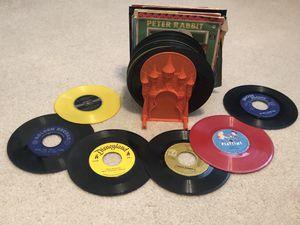 Vintage children's 45s for Sale in Leander, TX