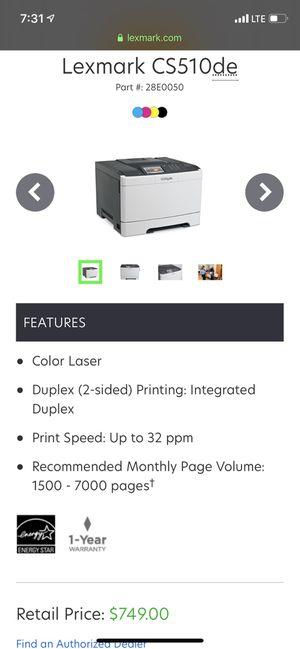 Lexmark printer for Sale in Buena Park, CA