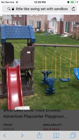 Little tikes swing set and Sand box for Sale in Benicia, CA