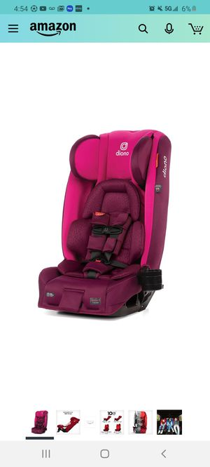 Diono 2020 Radian 3RXT, 4-in-1 Convertible, Extended Rear Facing, 10 Years 1 Car Seat, Fits 3 Across, Slim Fit Design, Purple Plum for Sale in City of Industry, CA