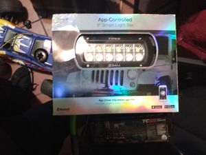 2 brand new 49 color changing led light bar for Sale in Long Beach, CA