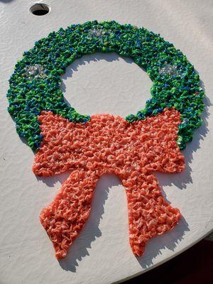 Popcorn Art, Christmas Wreath for Sale in Edison, NJ