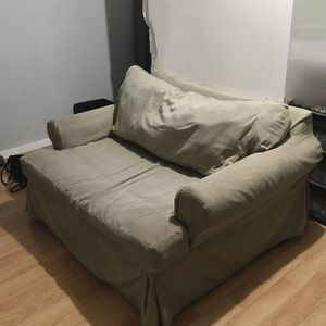 Pottery Barn Chaise / Sofa Bed for Sale in San Diego, CA
