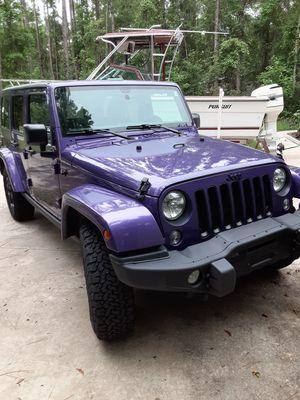 2016 Jeep Wrangler for Sale in Kingsland, GA