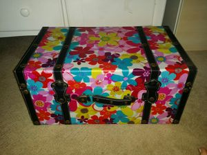 Floral colorful trunk for Sale in Los Angeles, CA
