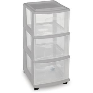 Set of three plastic drawers for Sale in San Diego, CA