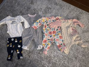 0-3 Months Baby Girl Clothes for Sale in Acampo, CA