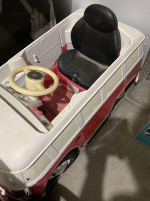 """""""VW"""" bus ride on for Sale in Tracy, CA"""