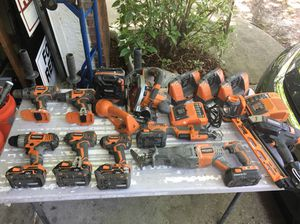 Bunch of Ridgid Tools for Sale in Orlando, FL