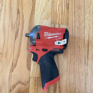 """Milwaukee M12 Fuel Stubby Brushless 3/8"""" Impact Wrench for Sale in Severna Park, MD"""