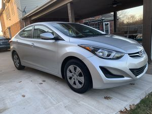 2016 Hyundai Elantra rebuilt title for Sale in Grand Prairie, TX