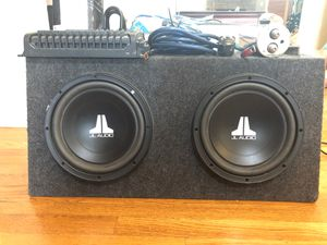 "JL Audio Dual 10"" Subwoofer for Sale in Delaware, OH"