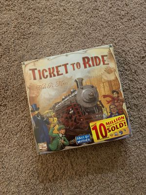 Brand new Ticket to Ride Boardgame for Sale in Arlington Heights, IL