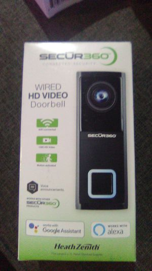 Secur360 Wired HD Video Doorbell for Sale in Norwich, CT