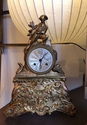 Antique French Empire Ormolu Clock for Sale in Los Angeles, CA