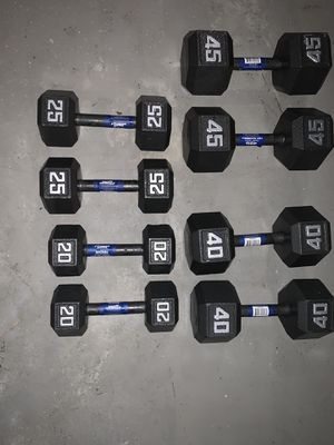 dumbbells set! for Sale in River Grove, IL