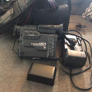 Cannon Uc1 8mm Video Camera for Sale in Manassas, VA