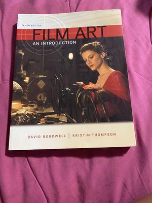 Film Art Textbook for Sale in Glendora, CA