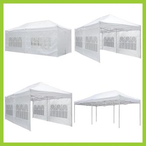 "(NEW) $210 - 10x20 Canopy Pop Up Carpa Tent with 1.5"" Metal Poles for Commercial and Residential Use for Sale in Phillips Ranch, CA"