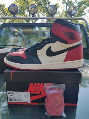 Jordan 1 Bred Toe for Sale in Skokie, IL