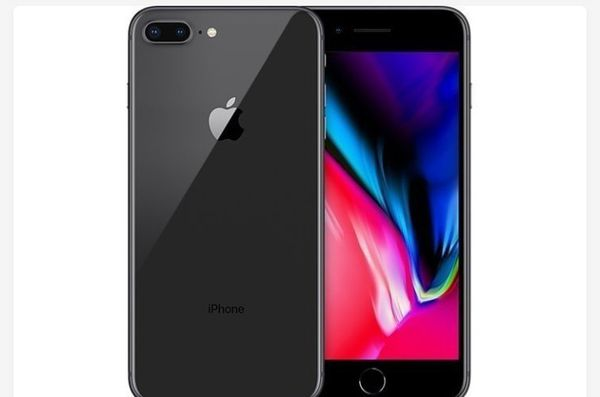 iPhone 8 plus with free delivery