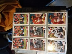 Complete card collection, football, basketball, and baseball for Sale in Snohomish, WA