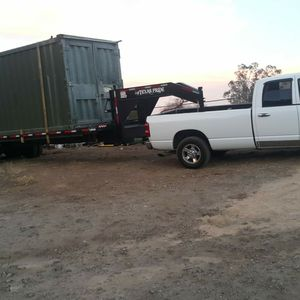 Flatbed trailer 5th wheel gooseneck hitch for Sale in Riverside, CA