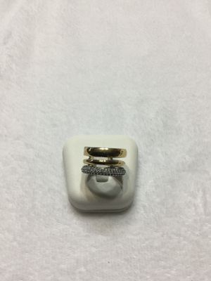 NEW 925 Sterling Silver and 10k gold ring. Sz:6 for Sale in Lehigh Acres, FL