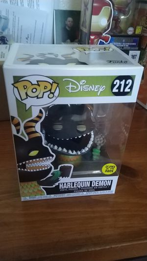 Disney The Nightmare Before Christmas GITD Harlequin Demon Exclusive Funko Pop for Sale in San Diego, CA