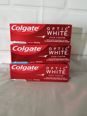 Colgate optic white for Sale in Morristown, TN