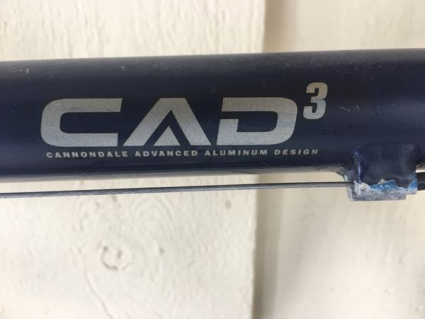 d333d158115 Cannondale CAD3 road bike 22 in / 56 cm aerobar for Sale in Irvine ...
