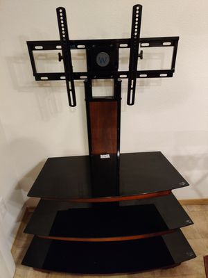 Westinghouse TV stand / mount with glass shelves for Sale in Vancouver, WA