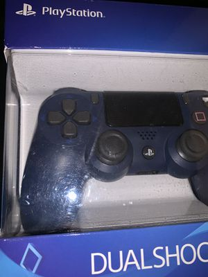 Navy blue PS4 controller for Sale in Antioch, CA