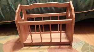 Solid wood magazine/book rack for Sale in Hawthorne, FL