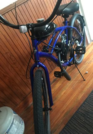 Guffy beach bike with moter for Sale in Woonsocket, RI