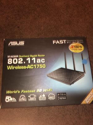 Asus Wireless AC 1750 Router for Sale in Decatur, GA
