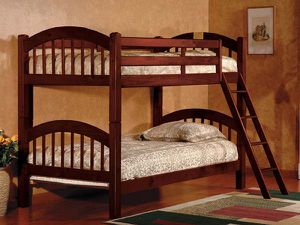 Cherry Arch Bunk bed divisible to 2 beds ( new) for Sale in Hayward, CA