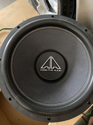Addictive Audio 15 inch for Sale in Fresno, CA
