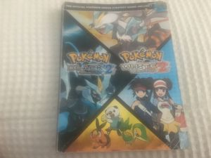 Pokémon Black 2 and White 2 official players guide for Sale in Chicago, IL
