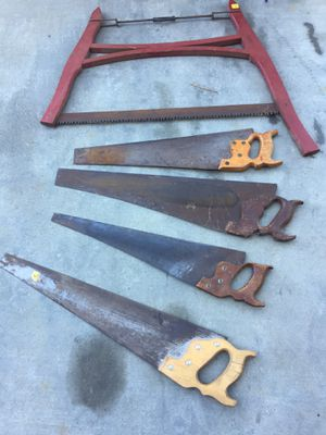 Hand saws all for $40 for Sale in Rancho Cucamonga, CA