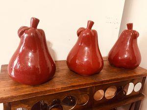 Red pears decor for Sale in Manassas, VA