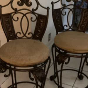 Set 2 Bar Stools for Sale in Hollywood, FL