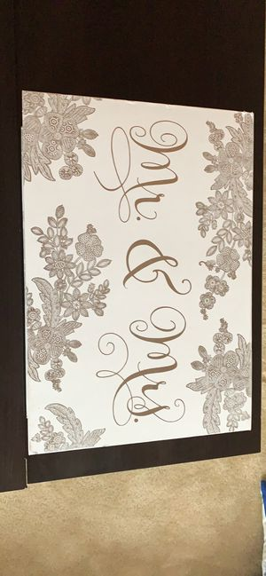 Wedding card box and toasting glasses for Sale in Virginia Beach, VA