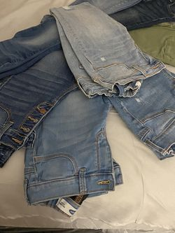 8 Pairs Of Old Navy Girls Skinny Jeans Size 12/14 for Sale in South Gate,  CA