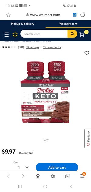 Keto meal shakes for Sale in Lynwood, CA