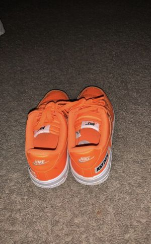 Orange Air Force 1's for Sale in Gaithersburg, MD