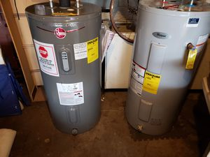 Two 50 gallon hot water heaters for Sale in Dayton, OH