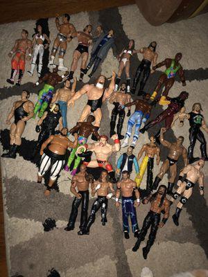 28 wrestlers $3 each for Sale in Newport News, VA