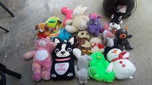 Toy teddy bears variety build a bear justice for girls for Sale in Corona, CA
